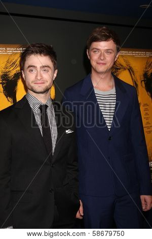 Daniel Radcliffe and Dane DeHaan at the