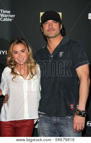 Alexa Vega and Robert Rodriguez at