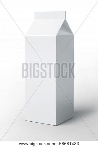 Blank Milk Pack
