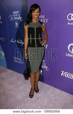 Shaun Robinson at Variety's 5th Annual Power of Women, Beverly Wilshire, Beverly Hills, CA 10-04-13