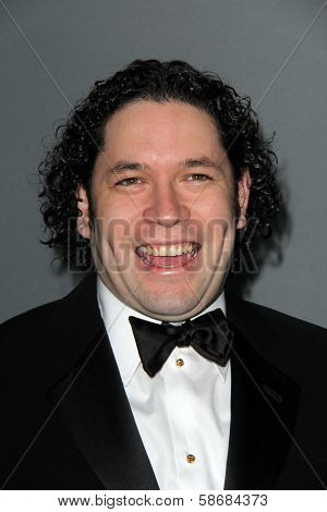 Gustavo Dudamel at the Walt Disney Concert Hall 10th Anniversary Celebration, Walt Disney Concert Hall, Los Angeles, CA 09-30-13