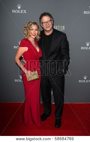Albert Brooks and Kimberly Shlain at the Walt Disney Concert Hall 10th Anniversary Celebration, Walt Disney Concert Hall, Los Angeles, CA 09-30-13