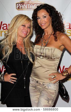 Gloria Kisel and Sofia Milos at the