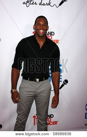 Lawrence Saint-Victor at the CBS Daytime After Dark Event, Comedy Store, West Hollywood, CA 10-08-13