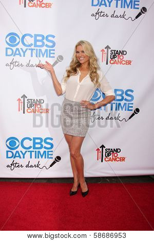 Rachel Reynolds at the CBS Daytime After Dark Event, Comedy Store, West Hollywood, CA 10-08-13