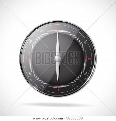 3D Compass Background