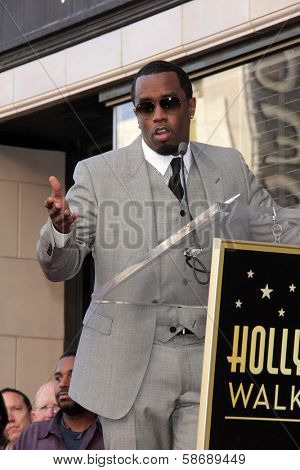Sean Combs at the Kenny