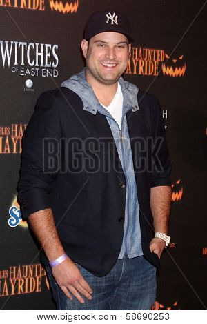 Max Adler at the 8th Annual LA Haunted Hayride Premiere Night, Griffith Park, Los Angeles, CA 10-10-13