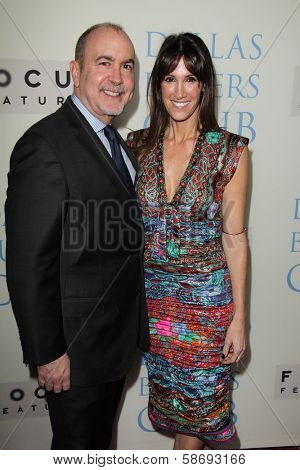 Terence Winter and Rachel Winter at the