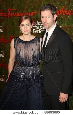 Darren Le Gallo and Amy Adams at the Wallis Annenberg Center For The Performing Arts Inaugural Gala, Wallis Annenberg Center For The Performing Arts, Beverly Hills, CA 10-17-13