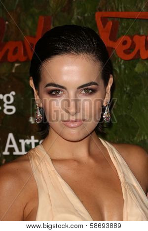 Camilla Belle at the Wallis Annenberg Center For The Performing Arts Inaugural Gala, Wallis Annenberg Center For The Performing Arts, Beverly Hills, CA 10-17-13