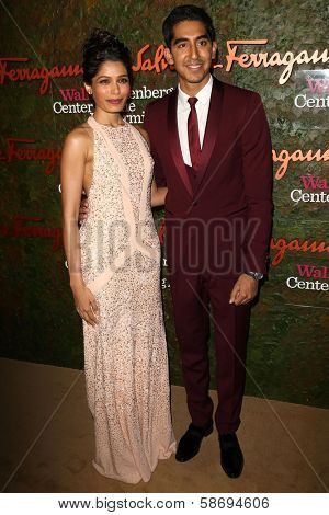 Freida Pinto, Dev Patel at the Wallis Annenberg Center For The Performing Arts Inaugural Gala, Wallis Annenberg Center For The Performing Arts, Beverly Hills, CA 10-17-13