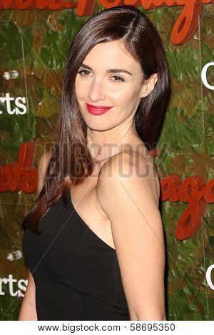 Paz Vega at the Wallis Annenberg Center For The Performing Arts Inaugural Gala, Wallis Annenberg Center For The Performing Arts, Beverly Hills, CA 10-17-13