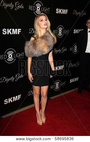 Masiela Lusha Dignity Gala and Launch of Redlight Traffic App, Beverly Hilton Hotel, Beverly Hills, CA 10-18-13