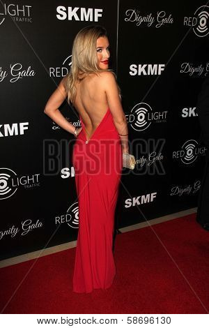 Keyara Dignity Gala and Launch of Redlight Traffic App, Beverly Hilton Hotel, Beverly Hills, CA 10-18-13