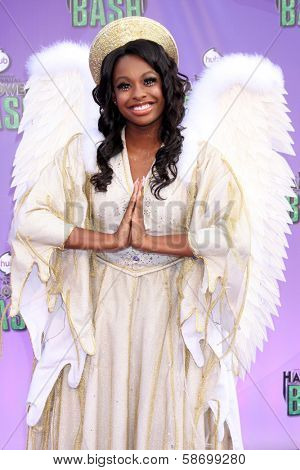 Coco Jones at the Hub Network First Annual Halloween Bash. Barker Hangar, Santa Monica, CA 10-20-13