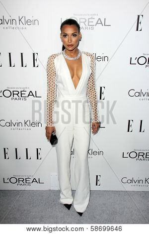Naya Rivera at the Elle 20th Annual