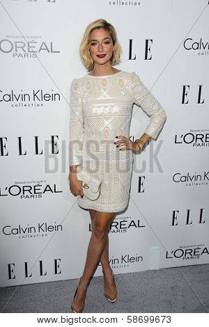 Caitlin Fitzgerald at the Elle 20th Annual