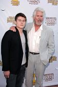Barry Bostwick and son at the 39th Annual Saturn Awards, The Castaway, Burbank, CA 06-26-13