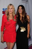 Daryl Hannah and Hilary Shepard at