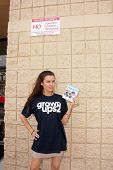 Alicia Arden at K-Mart for the Upcoming Release Of