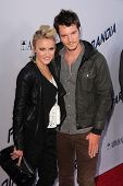 Emily Osment and Mathan Keyes at the