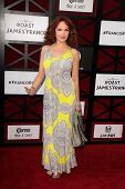 Amy Yasbeck at the Comedy Central Roast Of James Franco, Culver Studios, Culver City, CA 08-25-13