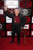 James Franco's Grandmother Mitzie Verne at the Comedy Central Roast Of James Franco, Culver Studios,