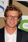 Simon Baker at the CBS, Showtime, CW 2013 TCA Summer Stars Party, Beverly Hilton Hotel, Beverly Hill