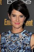 Cobie Smulders at the 2013 Entertainment Weekly Pre-Emmy Party, Fig& Olive, Los Angeles, CA 09-20-13