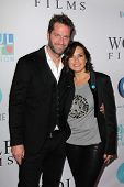 Peter Hermann and Mariska Hargitay at the Joyful Heart Foundation celebrates the No More PSA Launch,