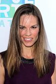 Hilary Swank at the Joyful Heart Foundation celebrates the No More PSA Launch, Milk Studios, Los Ang