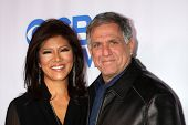 Julie Chen and Les Moonves at the CBS Daytime After Dark Event, Comedy Store, West Hollywood, CA 10-