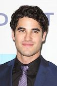 Darren Criss at Hugh Jackman