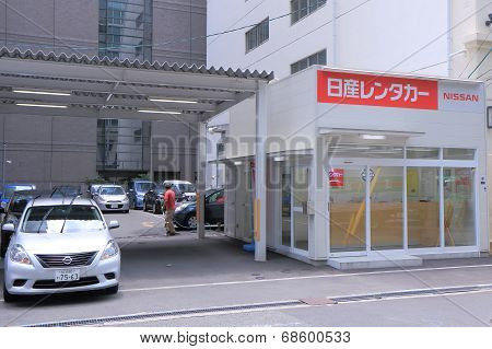 Nissan Car rental Japan