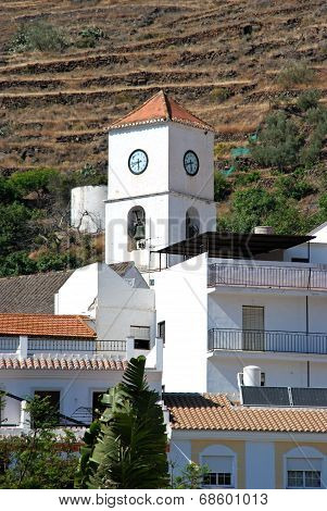 Town church, Algarrobo.
