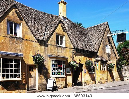 Eight Bells in, Chipping Campden.