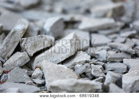 Crushed gravel background
