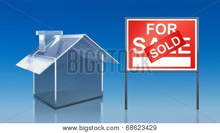 Investment Blue Glass House For Sale Sold