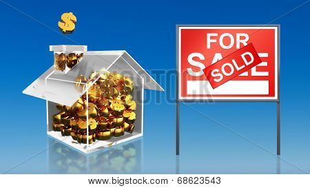 Investment Saving Money At House For Sale Sold Sky