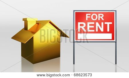 Gold House For Rent