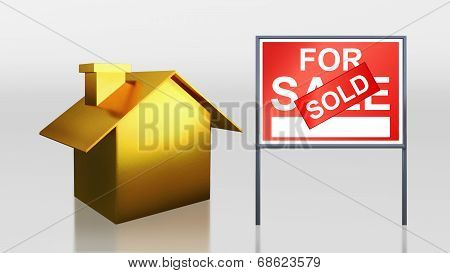 Gold House For Sale Sold