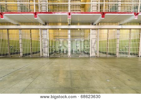 Alcatraz Cellhouse, San Francisco, California