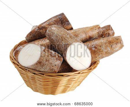 Chopped And Whole Cassava