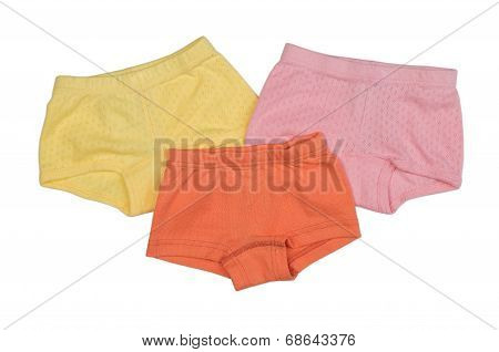 Three Female Underpants