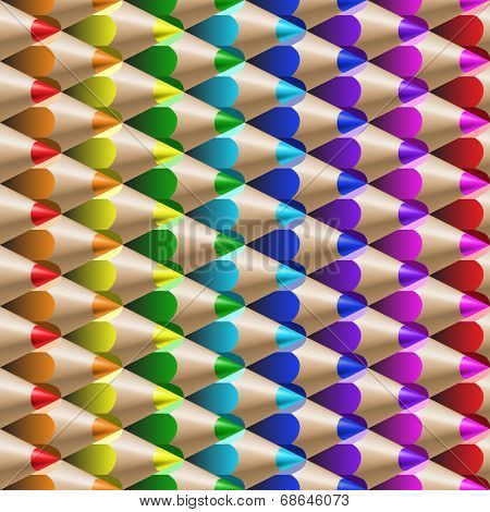 the color pencil seamless pattern