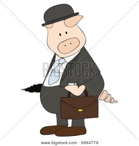 Business Pig.
