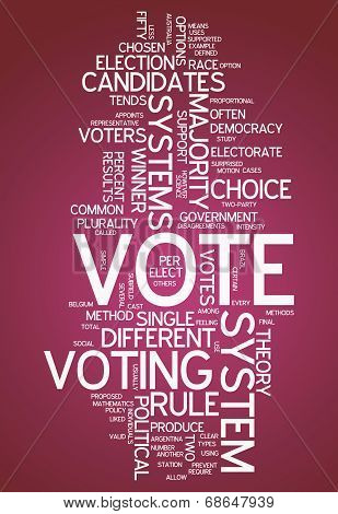 Word Cloud Vote