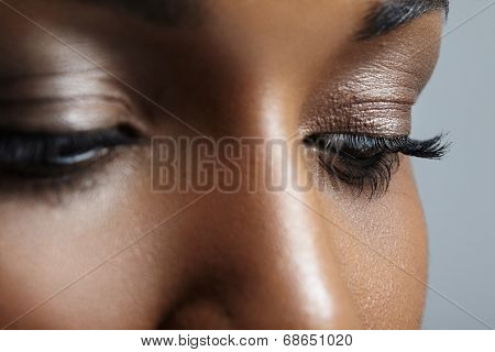 Black Woman's Eyes