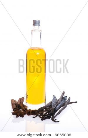 Bath Oil With Spices